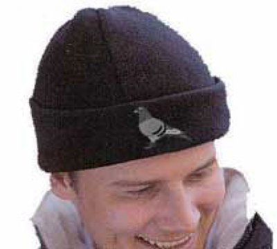 Fleece Embroidered Pigeon Hat