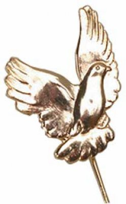 Flying Pigeon Stick Pin Badge