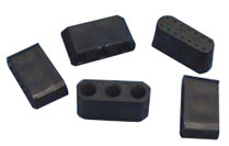 Replacement Black Blocks for Plastic Widowhood Fronts