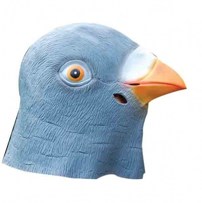 Pigeon Mask - Latex