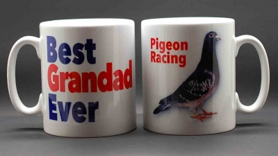 MUG - Best Grandad Ever / Pigeon