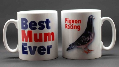 MUG - Best Mum Ever / Pigeon