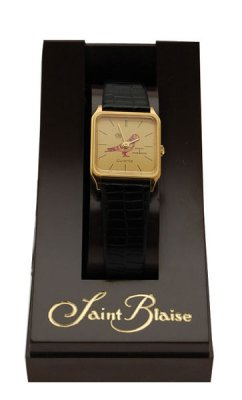 Ladies Square STB Gold-Plated Watch