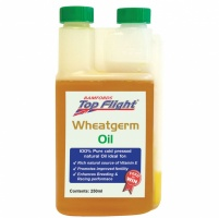 Top Flight Wheatgerm Oil 250ml - OUT OF DATE