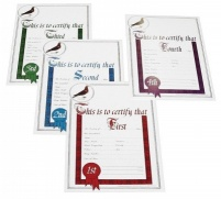 Ultimate Diplomas - Set of 1st, 2nd, 3rd and 4th