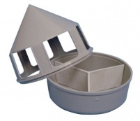 Rebecca Pigeon Grit/Mineral Feeder with Compartments