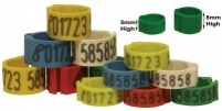 Personalised Telephone Clip Rings 5mm Pack of 100