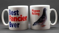 MUG - Best Fancier Ever / Pigeon