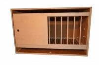 Deluxe Single Nestbox 12mm Plywood with Grill