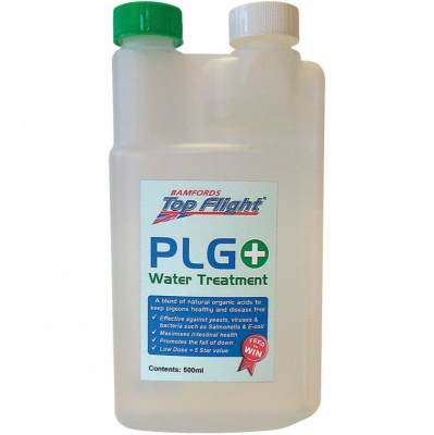 Top Flight PLG PLUS+ Water Treatment (Was Norvet) 500ml