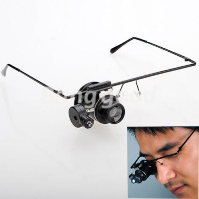 20x Eyesign Glass (on frame) with LED Light