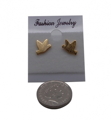 Pigeon Shaped Earrings - Set of 2