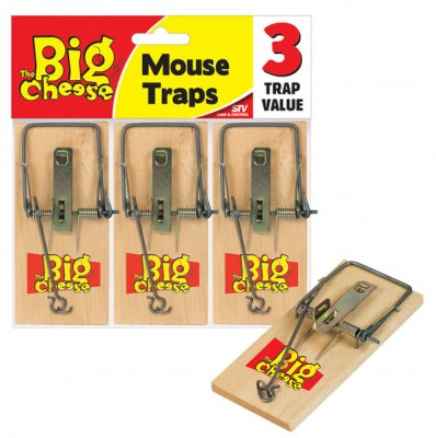 Budget Mouse Traps - Pack of 3