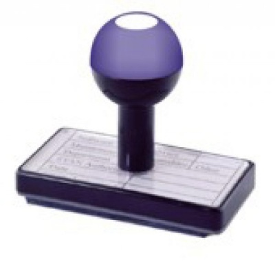 Traditional Wing Stamp 55 x 15mm - FREE POSTAGE IN UK