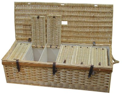 Boddy and Ridewood Wicker Pigeon Show/ Widowhood Basket