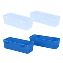 Plastic Nestbox Cup  / Crate Trough 21cm