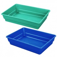Coloured Rectangular Plastic Bath