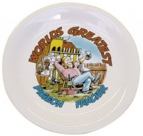 6 inch World's Greatest Fancier Plate