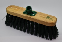 Yardbrush Head With Stiff PVC Bristles