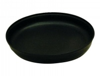 Large Plastic Round Benson Bath - BLACK
