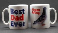 MUG - Best Dad Ever / Pigeon