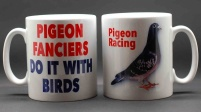 MUG - Pigeon Fanciers Do It With Birds / Pigeon