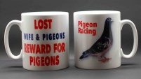 MUG - Lost Wife & Pigeons: Reward for Pigeons / Pigeon