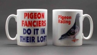 MUG - Pigeon Fanciers Do It In Their Loft / Pigeon