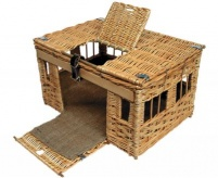 7-8 Bird Boddy & Ridewood Wicker Pigeon Basket